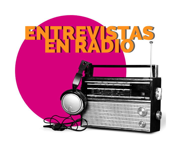 Entrevistas en radio, una acción clave para impulsar la visibilidad