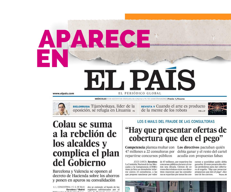 Aparece en El País